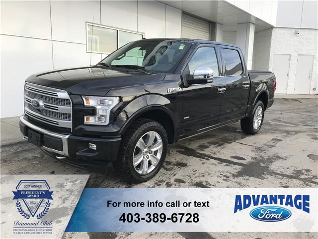 2017 Ford F-150 Platinum (Stk: K-204A) in Calgary - Image 1 of 18
