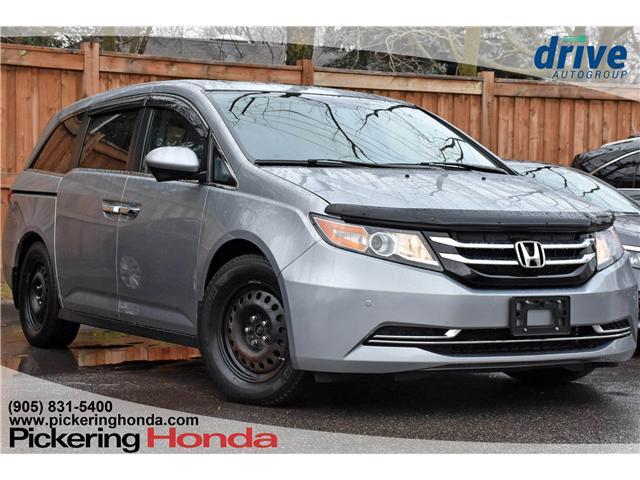 2017 Honda Odyssey EX-L (Stk: U169A) in Pickering - Image 1 of 28