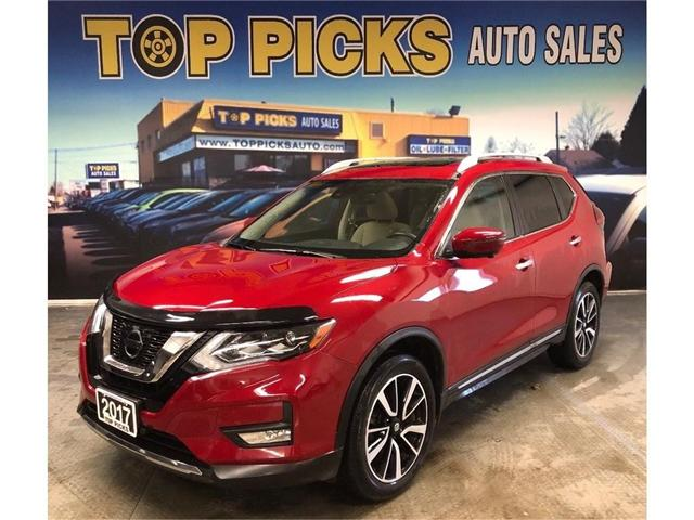 2017 Nissan Rogue SL Platinum (Stk: 860054) in NORTH BAY - Image 1 of 26