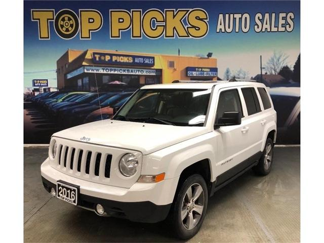 2016 Jeep Patriot Sport/North (Stk: 762655) in NORTH BAY - Image 1 of 25