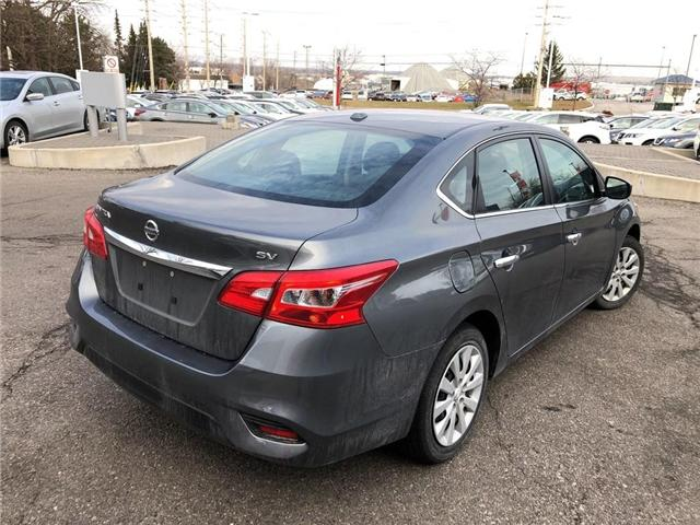 2018 Nissan Sentra SV - CERTIFIED PRE OWNED - FREE $100 GAS CARD (Stk: P0601) in Mississauga - Image 5 of 18
