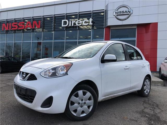 2017 Nissan Micra SV - CPO - EXTENDED WARRANTY (Stk: P0600) in Mississauga - Image 1 of 16