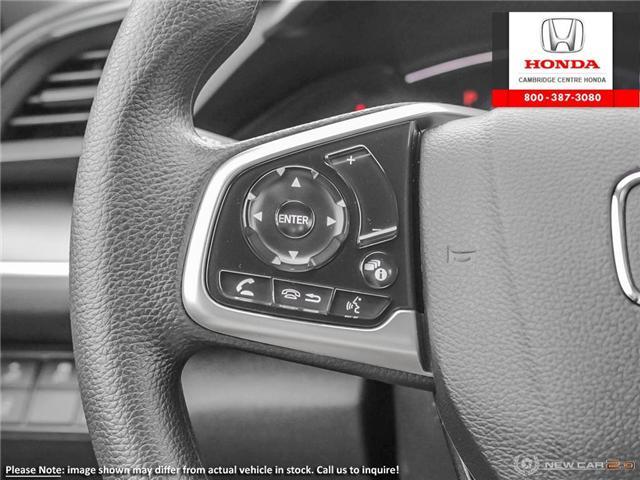 2019 Honda Civic LX (Stk: 19360) in Cambridge - Image 16 of 24