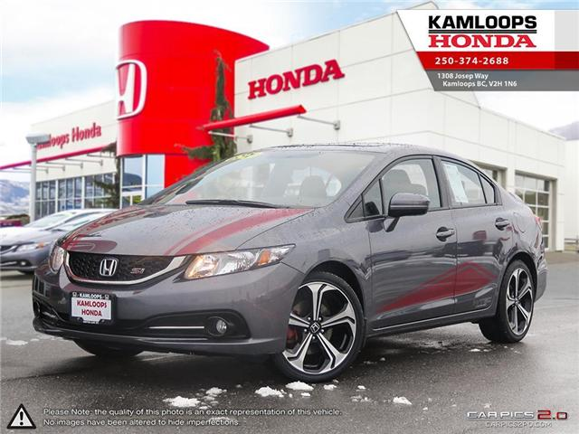 2015 Honda Civic Si (Stk: 14301U) in Kamloops - Image 1 of 25
