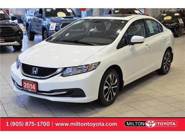 2014 Honda Civic EX (Stk: 013508) in Milton - Image 1 of 40