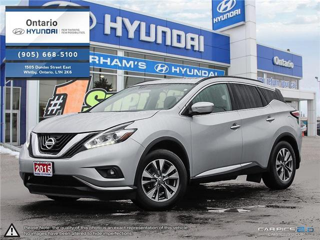 2015 Nissan Murano SV / Low Klm's (Stk: 46457K) in Whitby - Image 1 of 27