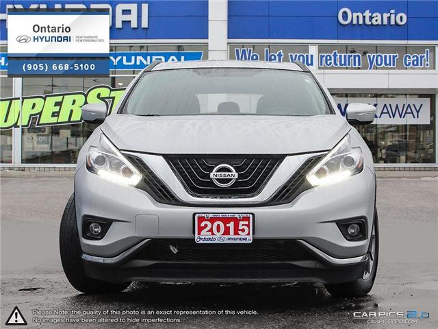 2015 Nissan Murano SV / Low Klm's (Stk: 46457K) in Whitby - Image 2 of 27