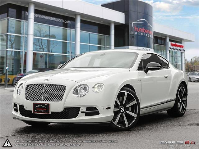 2013 Bentley Continental GT 2dr Cpe Le Mans Edition (Stk: 18MSX794) in Mississauga - Image 1 of 27