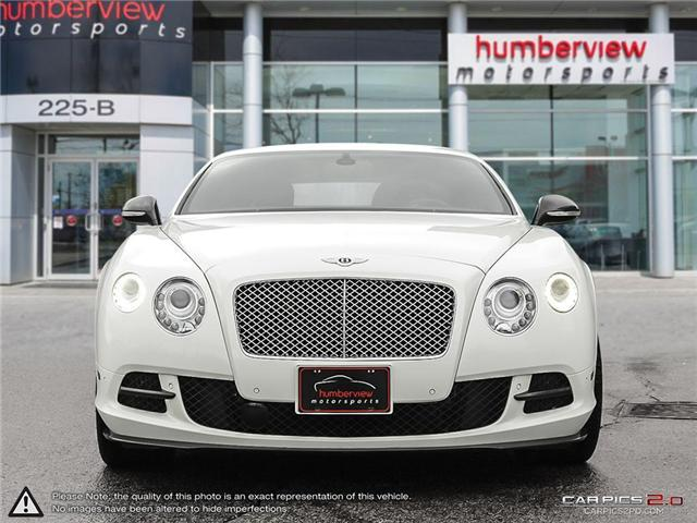 2013 Bentley Continental GT 2dr Cpe Le Mans Edition (Stk: 18MSX794) in Mississauga - Image 2 of 27