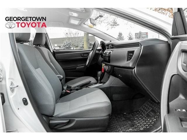 2015 Toyota Corolla  (Stk: 15-98212) in Georgetown - Image 15 of 18