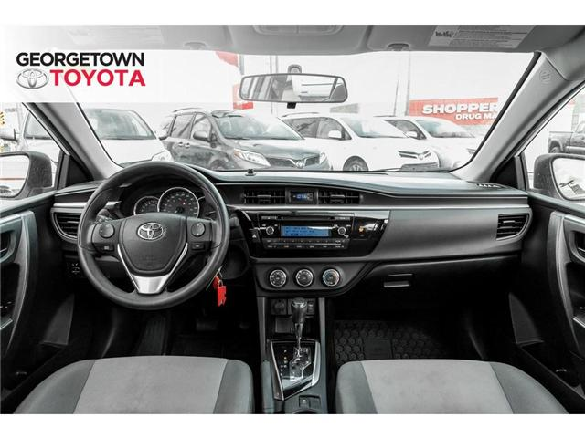 2015 Toyota Corolla  (Stk: 15-98212) in Georgetown - Image 17 of 18