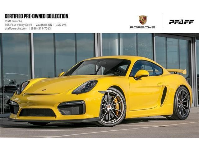 2016 Porsche Cayman GT4 (Stk: U7378) in Vaughan - Image 1 of 22