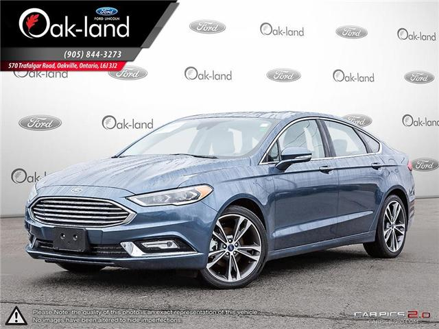 2018 Ford Fusion Titanium (Stk: A3116) in Oakville - Image 1 of 26