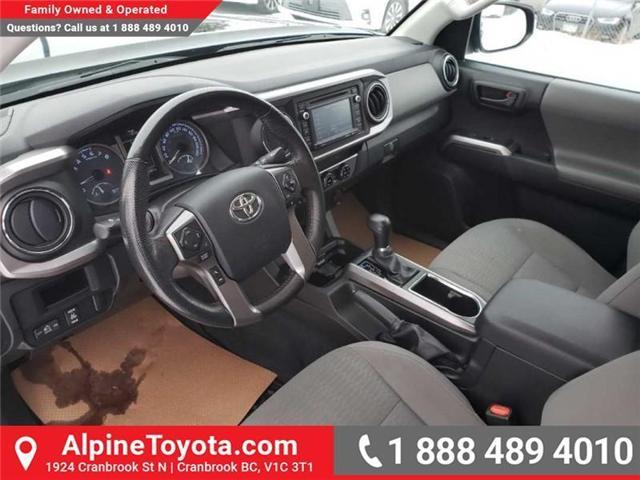 2016 Toyota Tacoma SR5 V6 (Stk: X004885M) in Cranbrook - Image 9 of 16