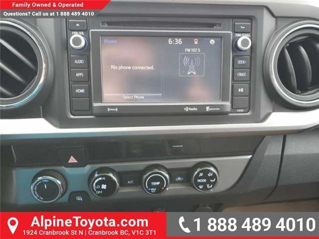 2016 Toyota Tacoma SR5 V6 (Stk: X004885M) in Cranbrook - Image 12 of 16