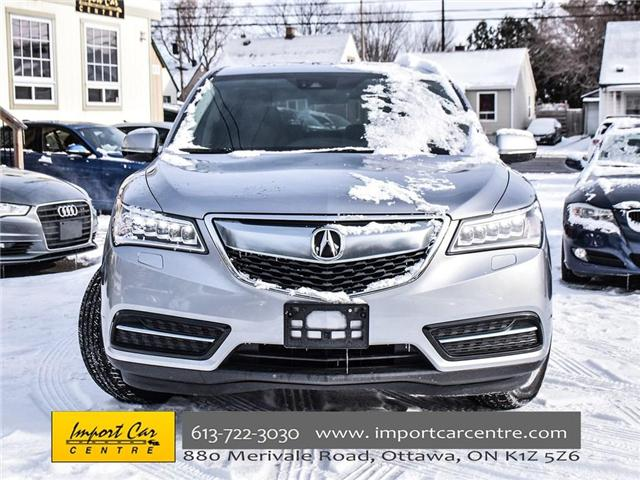 2016 Acura MDX Navigation Package (Stk: 505408) in Ottawa - Image 2 of 22