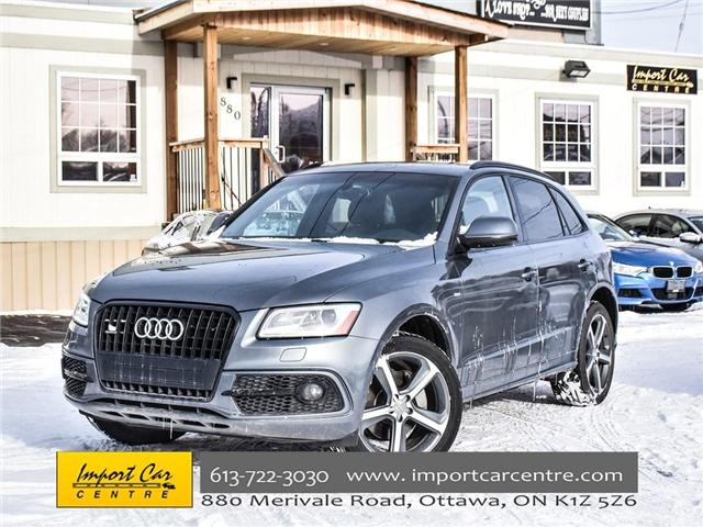 2015 Audi Q5 3.0T Technik (Stk: 046475) in Ottawa - Image 1 of 27