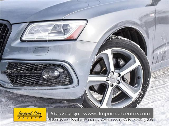 2015 Audi Q5 3.0T Technik (Stk: 046475) in Ottawa - Image 6 of 27