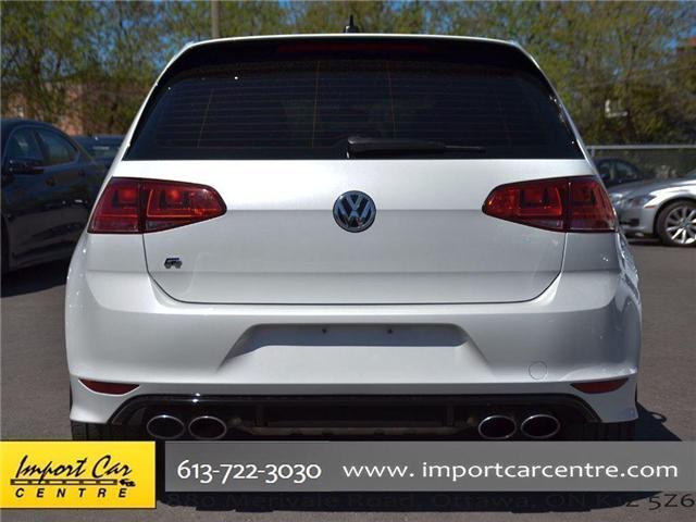 2017 Volkswagen Golf R 2.0 TSI (Stk: 4038) in Ottawa - Image 5 of 30