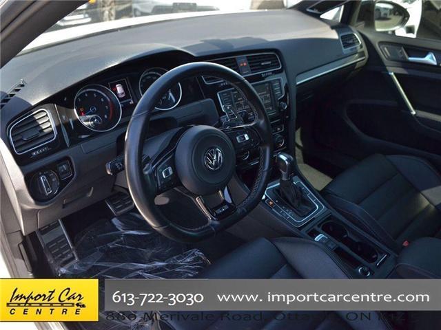 2017 Volkswagen Golf R 2.0 TSI (Stk: 4038) in Ottawa - Image 12 of 30
