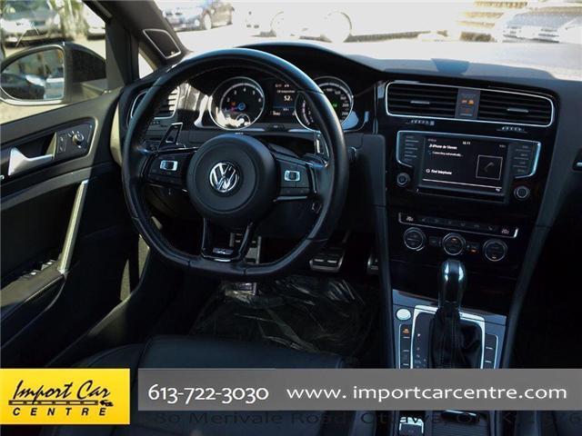2017 Volkswagen Golf R 2.0 TSI (Stk: 4038) in Ottawa - Image 16 of 30