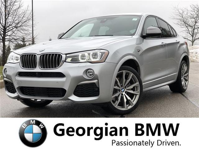 2018 BMW X4 M40i (Stk: P1409) in Barrie - Image 1 of 21