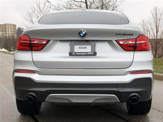 2018 BMW X4 M40i (Stk: P1409) in Barrie - Image 7 of 21