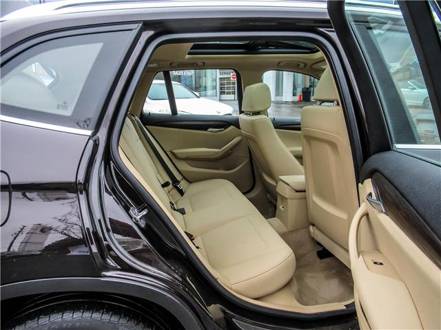 2015 BMW X1 xDrive28i (Stk: P8729) in Thornhill - Image 16 of 25