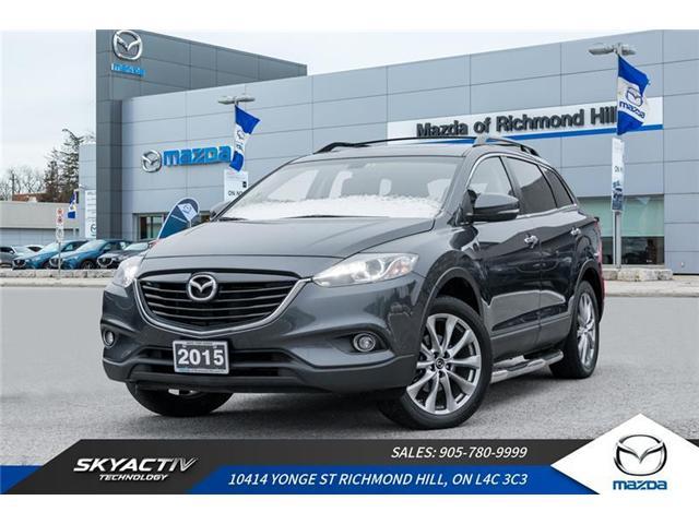 2015 Mazda CX-9 GT (Stk: 18-1017DTA) in Richmond Hill - Image 1 of 20