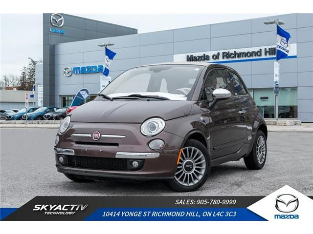 2013 Fiat 500C Lounge (Stk: 18-577A) in Richmond Hill - Image 1 of 18