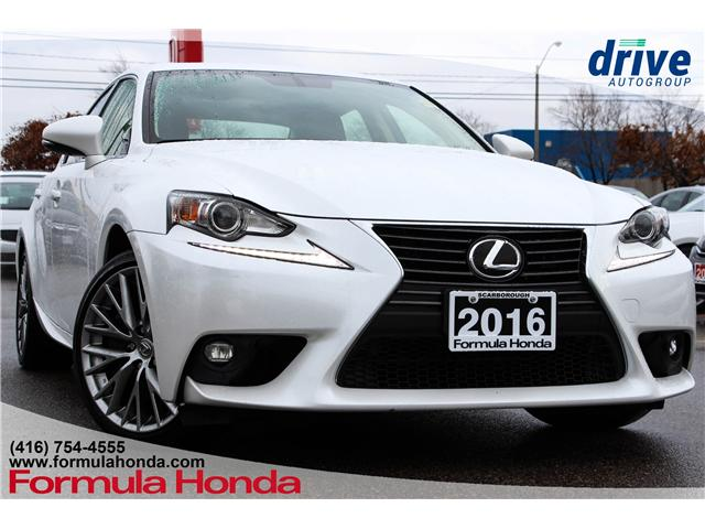 2016 Lexus IS 300 Base (Stk: B10854) in Scarborough - Image 1 of 33