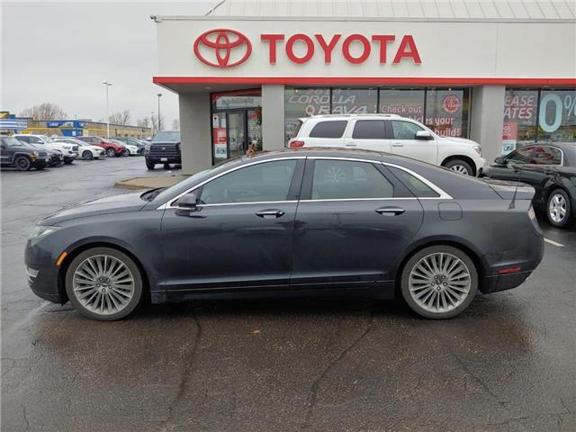 2013 Lincoln MKZ Base (Stk: 1811642) in Cambridge - Image 1 of 12