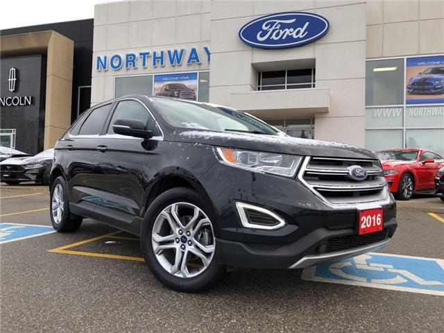 2016 Ford Edge Titanium   HTD LEATHER   NAV   PANOROOF (Stk: LL70657A) in Brantford - Image 1 of 18