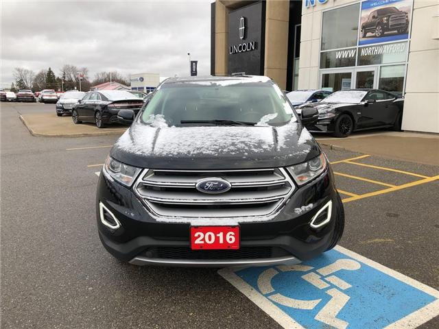 2016 Ford Edge Titanium   HTD LEATHER   NAV   PANOROOF (Stk: LL70657A) in Brantford - Image 2 of 18