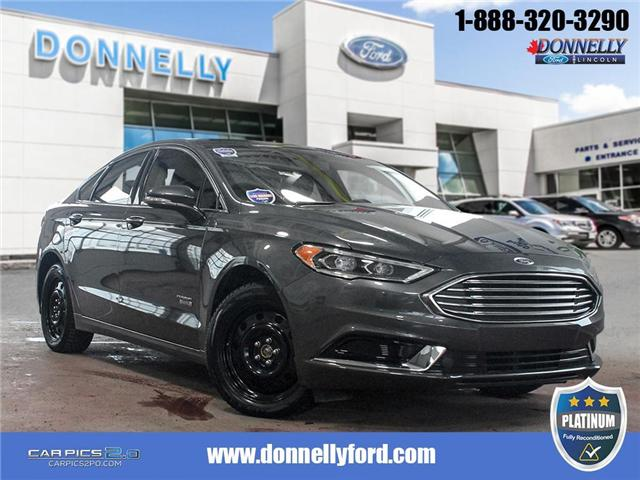 2018 Ford Fusion Energi SE Luxury (Stk: PLDU5990) in Ottawa - Image 1 of 28