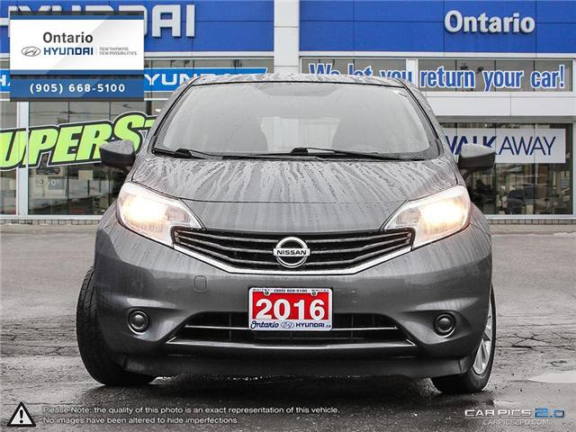 2016 Nissan Versa Note 1.6 SV / Auto (Stk: 97020K) in Whitby - Image 2 of 27
