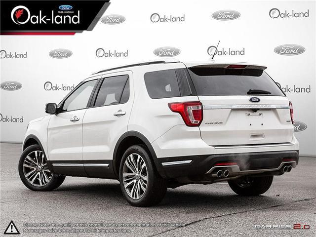 2018 Ford Explorer Platinum (Stk: A3111) in Oakville - Image 4 of 26