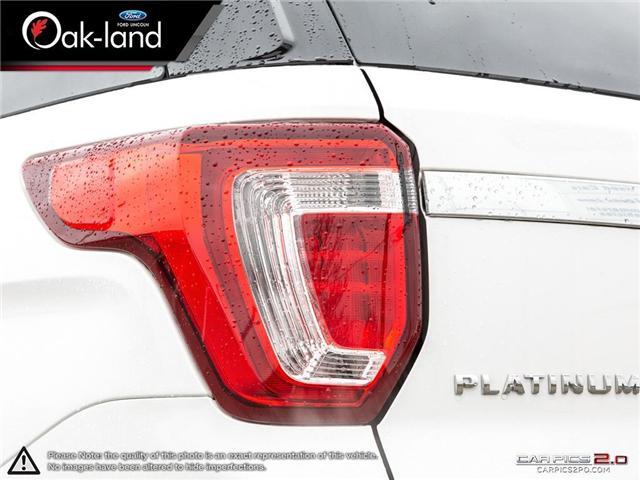 2018 Ford Explorer Platinum (Stk: A3111) in Oakville - Image 12 of 26