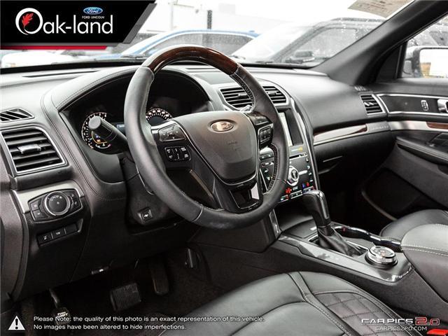 2018 Ford Explorer Platinum (Stk: A3111) in Oakville - Image 13 of 26