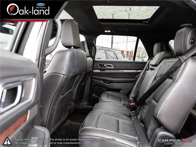 2018 Ford Explorer Platinum (Stk: A3111) in Oakville - Image 24 of 26