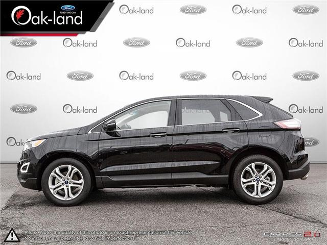 2018 Ford Edge Titanium (Stk: A3114) in Oakville - Image 3 of 26