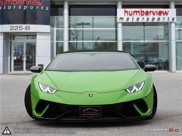 2018 Lamborghini Huracan Performante | AWD | V10 | 640 hp @ 8000 rpm | MAX (Stk: 18MSX572) in Mississauga - Image 2 of 29