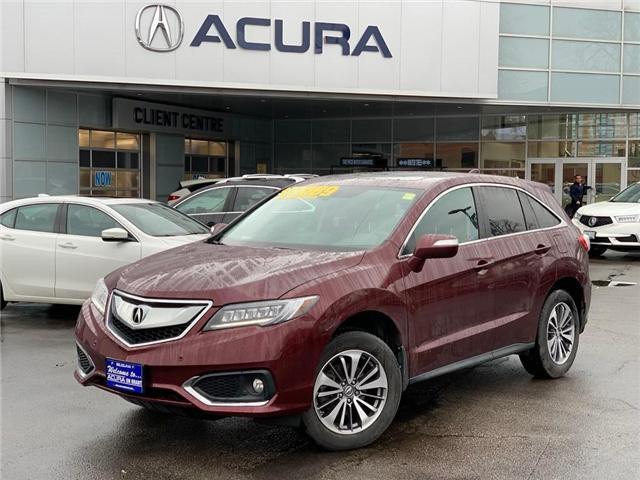 2017 Acura RDX Elite (Stk: 4001) in Burlington - Image 1 of 30