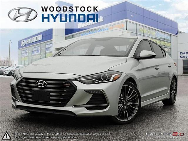 2018 Hyundai Elantra Sport (Stk: HD18036) in Woodstock - Image 1 of 22
