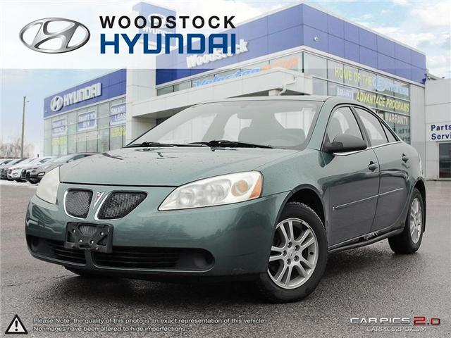 2006 Pontiac G6 Base (Stk: TN18003B) in Woodstock - Image 1 of 27
