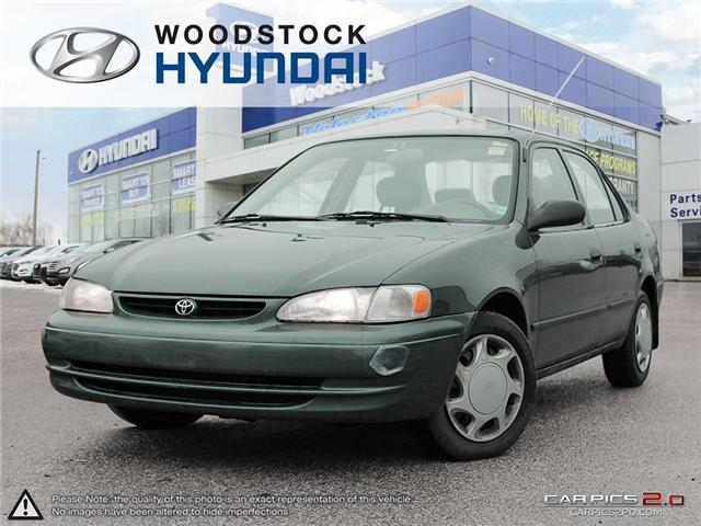 2000 Toyota Corolla  (Stk: KA19013A) in Woodstock - Image 1 of 27