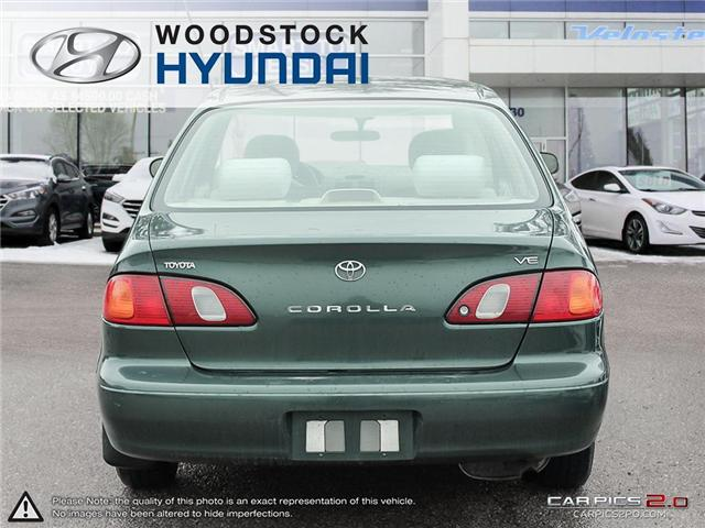 2000 Toyota Corolla  (Stk: KA19013A) in Woodstock - Image 5 of 27