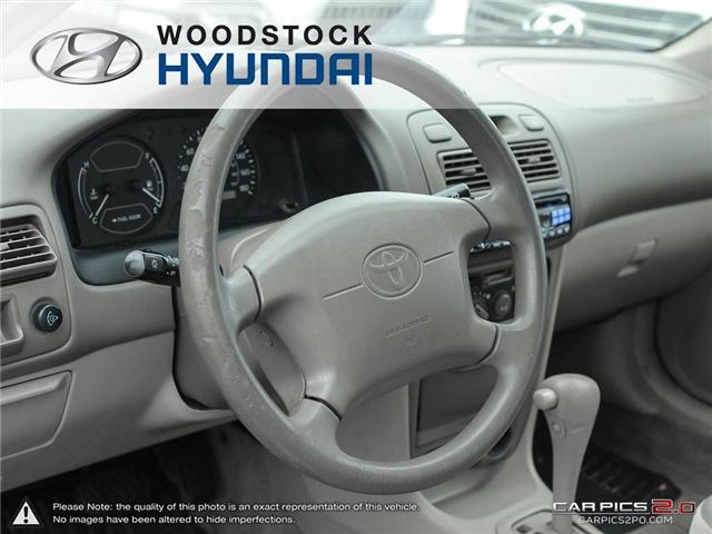 2000 Toyota Corolla  (Stk: KA19013A) in Woodstock - Image 6 of 27