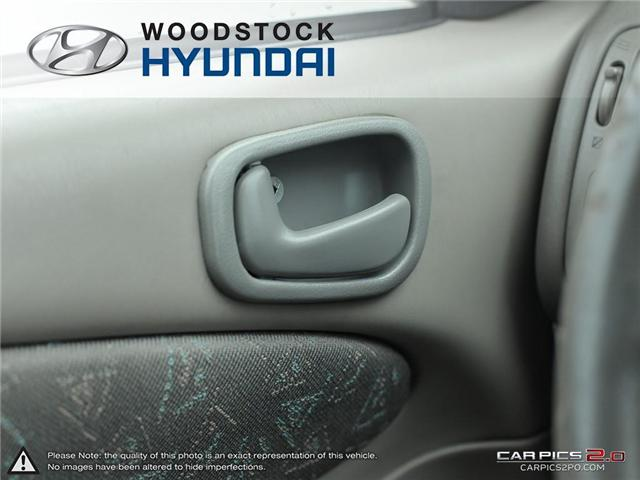 2000 Toyota Corolla  (Stk: KA19013A) in Woodstock - Image 10 of 27