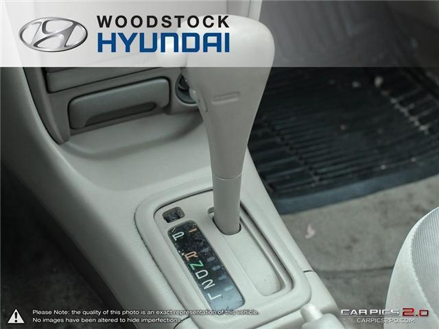 2000 Toyota Corolla  (Stk: KA19013A) in Woodstock - Image 11 of 27